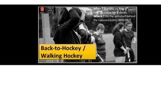 Back To Hockey - starts 8th May @6:30 (8 weeks)
