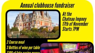 Chateau Impney Dinner and Party Sat 17th Nov