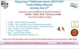 Midsummer Sports OPEN DAY