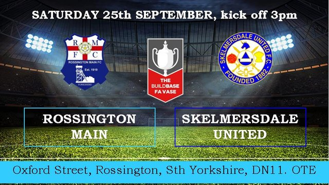 UNITED IN CUP ACTION SATURDAY- ROSSINGTON MAIN IN THE VASE