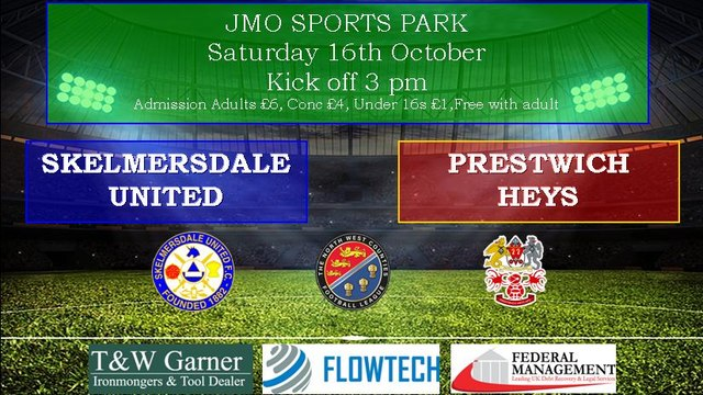 Prestwich Heys  - Home at the JMO Saturday 16th