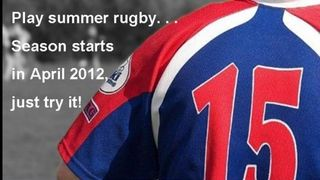 Summer rugby is here! Come down and try it!