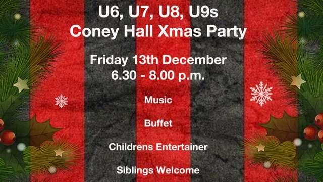 Coney Hall FC - XMAS PARTY
