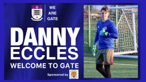 Welcome to Gate, Danny Eccles!