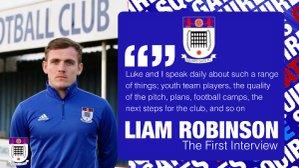 Q&A with Liam Robinson