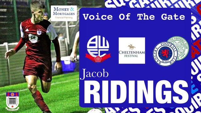 Voice of the Gate: Jacob Ridings