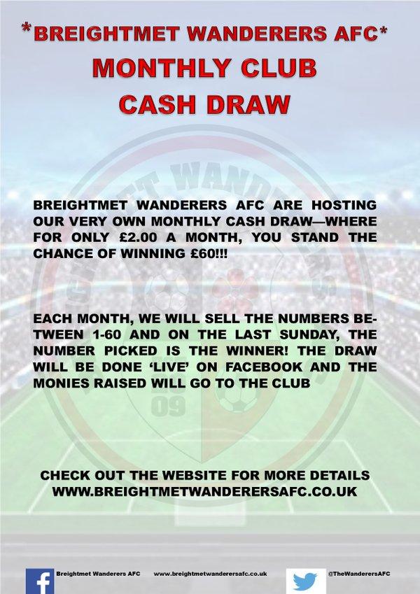 Club Cash Draw