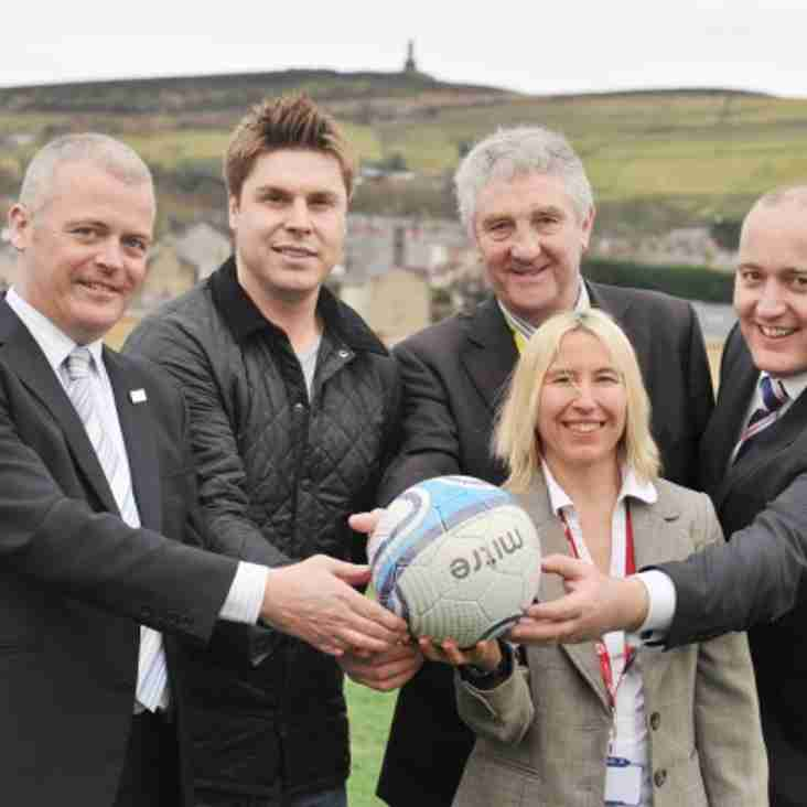 Chorley boost for youth football in Lancashire