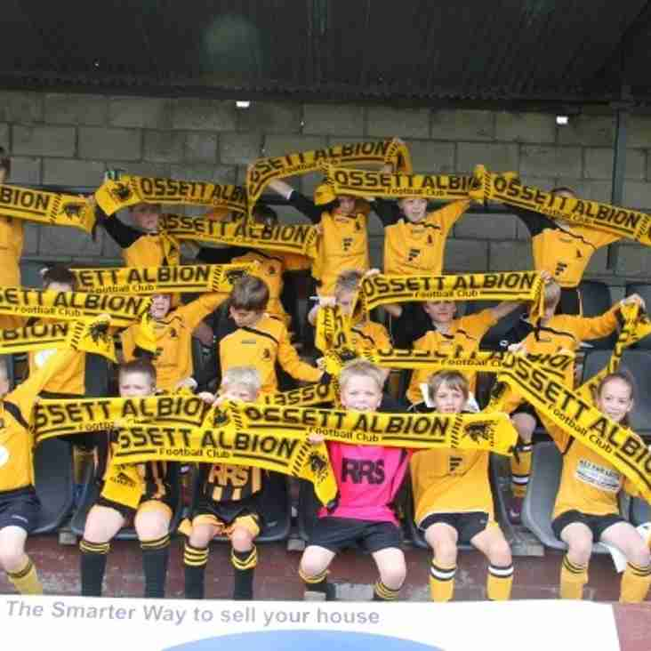 Ossett Albion announce junior day