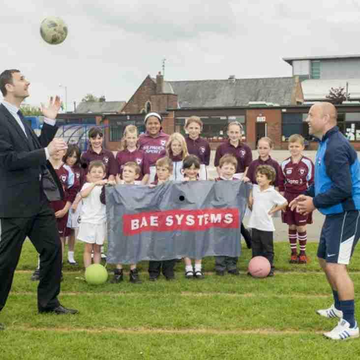 Fylde announce BAE partnership