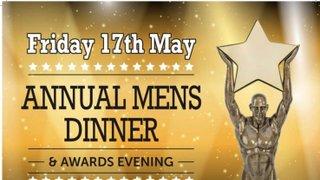 Senior Mens Dinner Tickets now on sale!!