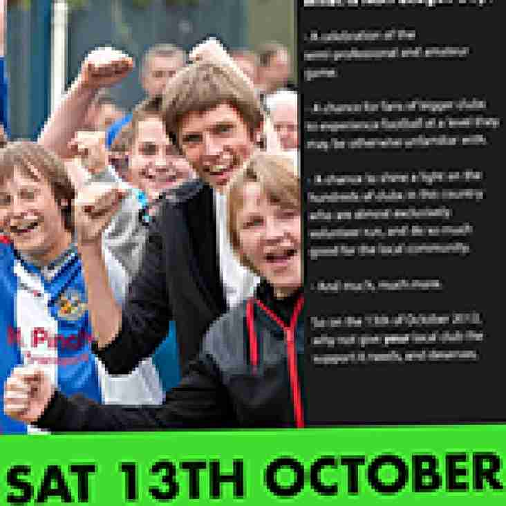 Ryman clubs back Non-League Day