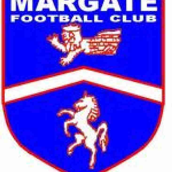 Blow for Margate as Kinnear quits