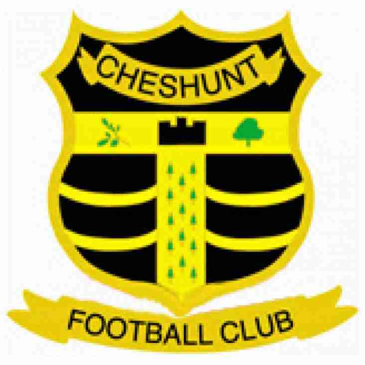Cheshunt lose points