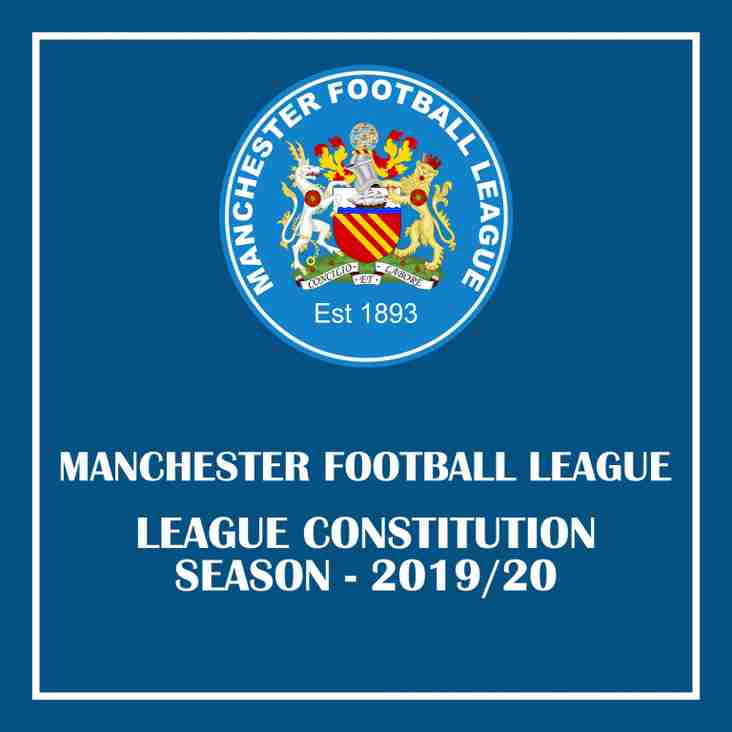 League Constitution - Season 2019/20