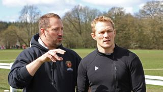 Josh Lewsey at A+C Rugby Club     17 April 2016