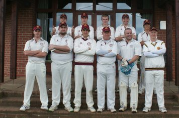Shipston CC 2nd XI 2010  Back Row - M.Partridge, M.Ireland, J.Godson, C.French, N.Taylor  Front Row - D.Phillips, K.Hirst, A.Welsby, A.Righton, R.Glover, R.Wickson