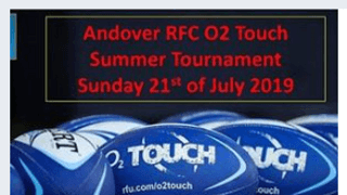 Touch Tournament Sunday 21st July - Andover (SP11 0TA)
