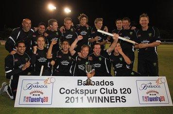 Cockspur Club T20 2011 Winners