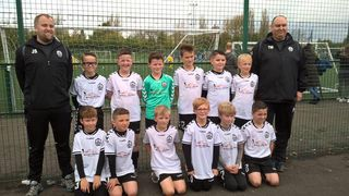 Mossley AFC Under 10's make it 5 wins out of 5!