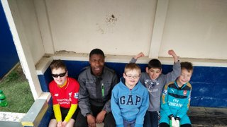 Everett Rovers Inclusive team at the Herts Festival of Football
