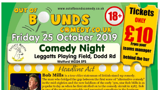 COMEDY NIGHT - 25th October