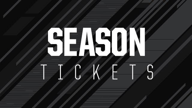 SEASON TICKETS: Information for 2020/21 season ticket & flexi-ticket holders