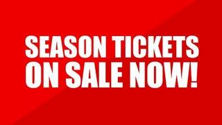 Season Tickets - Sales times this week