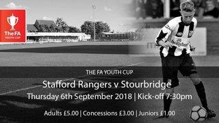 Stourbridge FC Youth and Academy news