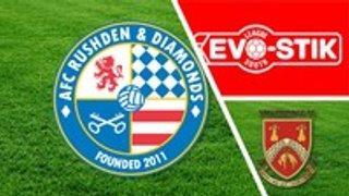 AFC Rushden & Diamonds 1 Stourbridge 2 - Match highlights link