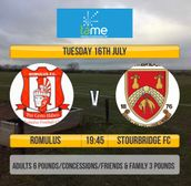 Romulus 0 Stourbridge 0