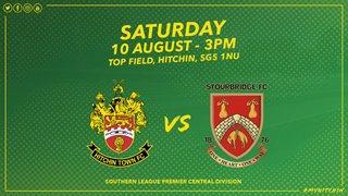 Hitchin Town 1 Stourbridge 2 - Match Highlights