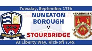 Match Preview - Nuneaton Borough v Stourbridge