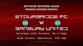 Stourbridge v Banbury United - Match Preview
