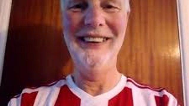 This season's 'Man of the Match' raises £437 - Many thanks Brian!