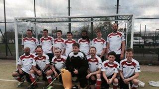 Mens cup hockey win vs Harlow 15.11.15