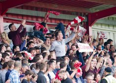 HEMEL V WEALDSTONE, SUPPORTER ARRANGEMENTS