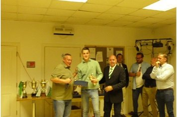 Young player of the year for the reserves Toby Jarvis