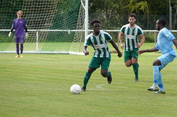 A. Turyatemba on the ball