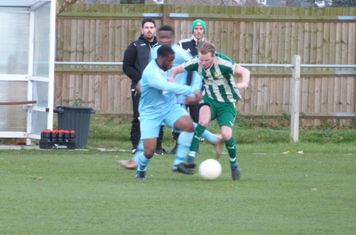 C. Ansell trying to beat his man