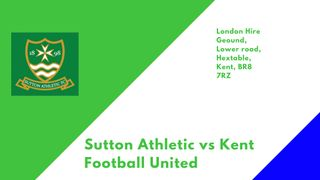 Firsts entertain Kent Football United