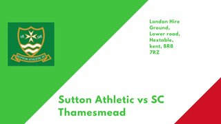 Firsts host SC Thamesmead