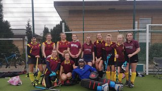 A goal with 14 seconds to go secures a point for Ladies 1s