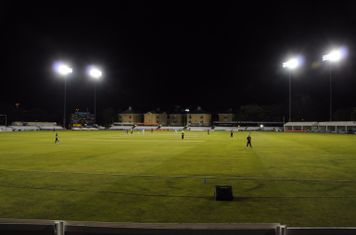 Chelmsford CC under lights during the 2011 National T20 final