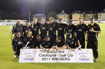 National T20 winning team