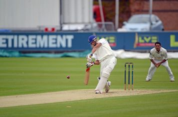 Wakers batting in the National Knockout 2013 final at Durham