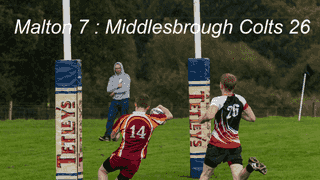 Malton vs Middlesbrough Colts 17.09.17