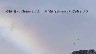 Old Brodleians vs Middlesbrough Colts