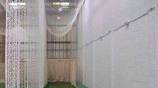 Senior pre-season net practice at Sheldon Sports Hall, Chippenham