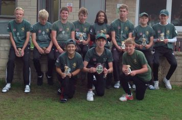 Academy Under15s win B&DYCL KO CUP